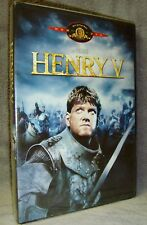 Henry V (DVD, 2000) Brand New!•Factory Sealed!•USA•Out-of-Print!•Kenneth Branagh