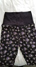 Mamalicious Floral Maternity Trousers Size M