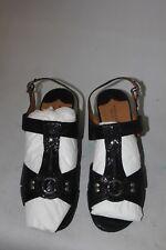 Walking Cradles Lottie Women's Black Snake Print Flats Size 11WW