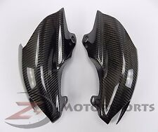 2007-2012 Hypermotard 796 1100 Rear Tail Exhaust Heat Shield Cover Carbon Fiber