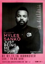 Sanko, Myles - 2016-concerto MANIFESTO-Just being me-TOUR POSTER-Hannover