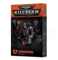 Kill Team: Commanders Expansion Set Warhammer 40K NIB