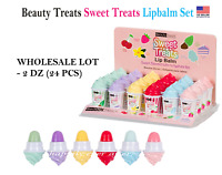 Beauty Treats Sweet Treats Lip Balm Set - WHOLESALE LOT 2 DZ (24 PCs)
