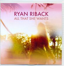 RYAN RIBACK - All that she wants 2016 1TR DUTCH ACETATE PROMO CD / Ace of Base