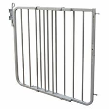 Cardinal Gates 29.5 Inch Adjustable Aluminum Auto-Lock Indoor Baby Gate, White