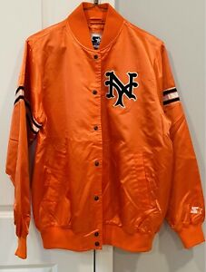 VINTAGE NEGRO LEAGUE NEW YORK CUBANS STARTER JACKET (MEDIUM)
