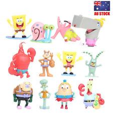 SpongeBob Squarepants Gazy Sandy Patrick Star 12PCS Action Figure Toy Kids Gift