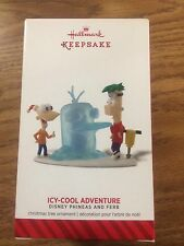 2014 Hallmark Keepsake Ornament Disney Phineas and Ferb Icy-Cool Adventure NIB