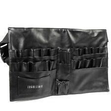 Fraulein3°8 29 Pockets Leather Makeup Apron Bag Cosmetic Brushes Case Belt Strap
