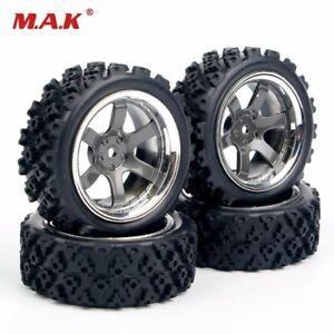 Rc car 1/10 scale rally wheels tires rally blocks 1/10 RC rally car