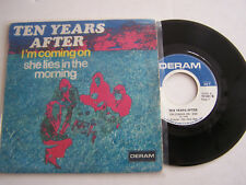 SP 2 TITRES VINYLE 45 T, TEN YEARS AFTER , I ' M GOING HOME . VG - / VG +