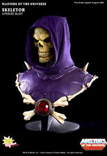 -= ] POP CULTURE - Masters of the Universe: Skeletor 1:1 Life Size Bust [ =-