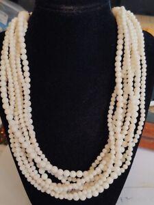 Gems En Vogue Michael valitutti Palladium/Sterling silver Coral Necklace ((M7))