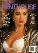 """PENTHOUSE """"Girls of Penthouse"""" February 1992 112 Pages Sizzling Photos*Free Ship"""