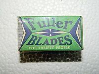 Vintage NOS Fuller Blades Razor Blades Box, Still Sealed,