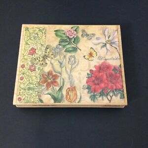 Butterfly Floral Collage Rubber Stamp Tapestry Studio Collection Stamps Happen