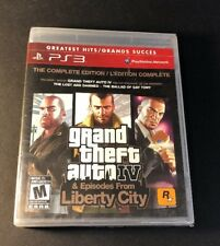 Grand Theft Auto IV The Complete Edition [ GTA IV / GTA 4 ] (PS3) NEW