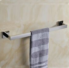 SUS 304 Stainless Steel Bathroom Chrome finish Towel Bar Rail Rack Holder Hanger