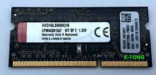 Kingston hyperx IMPACT 4GB 1x4GB DDR3L 1600HMZ 1.35V HX316LS9IBK2/8 SODIMM 204p