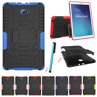 """For Samsung Galaxy Tab E 9.6"""" SM-T560 Tablet Rugged Defender Stand Case Cover"""