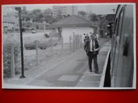 PHOTO  BRANCHTON  RAILWAY STATION 30/6/87