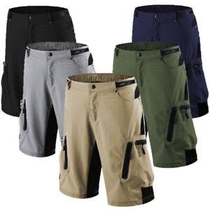Men Cycling Shorts Mountain Bike Baggy MTB Bermuda Pants Cycling Short Quick Dry