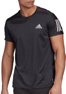 adidas Own The Run Short Sleeve Mens Running Top - Black