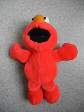 peluche Elmo Tyco 1998 vibre rigole vintage Elmo plush Sesame street plüsch pub