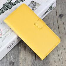 Genuine Leather Wallet Flip Case Cover For Samsung A3 A5 A7 J3 J5 J7 2017 2016