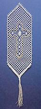 Marcador de cruz patrón de encaje de bolillos bolillos artesanías * patrón solamente *