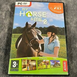 My Horse & Me 2 PC Game DVD-Rom Complete Horse Racing Equestrian