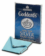 DISCOUNTED 5 X Goddard's Long Term Silver Cloth Postage