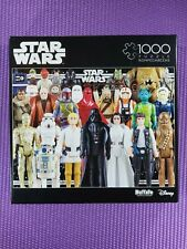 🔥 Buffalo Games Star Wars VINTAGE ACTION FIGURES - 1000 Piece Jigsaw Puzzle