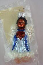 Patricia Breen Christmas Ornament 1998 Quartet of Angels Black Angel # 9834 New