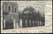 cartolina STRESA villa baisini-lago maggiore