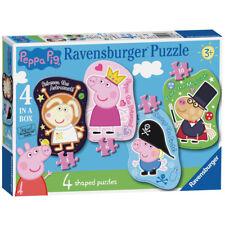 Ravensburger Peppa Pig 4 in a Box Shaped Jigsaw Puzzles