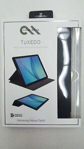 NEW Case-Mate Tuxedo Black Folio Case for Samsung Galaxy Tab E
