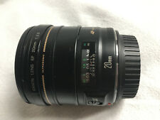Canon EF 20mm F/2.8 USM Lens used but perfect