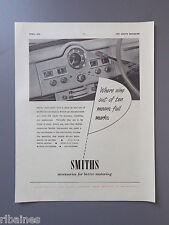 R&L Vintage Ex Magazine Advert: Smiths Gauges Instruments