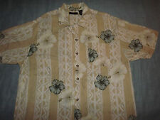 MEN'S COTTON TRADERS FLORAL PRINT CASUAL SHIRT sz XL