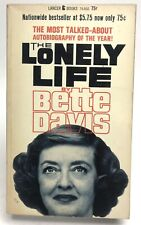 THE LONELY LIFE Bette Davis LANCER 74-860 Autobiography 1ST PRINTING Hollywood