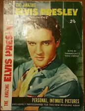 The Amazing Elvis Presley Vintage Australian Edition magazine