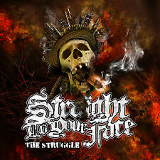 Straight To Your Face - The Struggle CD BACKFIRE KNUCKLEDUST FIRST BLOOD MADBALL