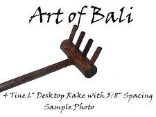 1000 x 4 Tine Zen Garden Rakes - Art of Bali Originals