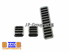 VW T1 BEETLE BUG BUGGY CHROME PEDAL RUBBER COVERS A460