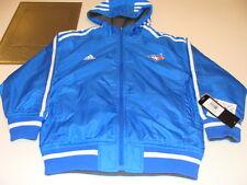 2013 Toronto Blue Jays MLB Small Youth Jacket Reversible Hooded Baseball Adidas