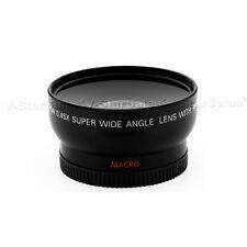 52MM 0.45x Wide Angle Macro Lens for Nikon D3200 D3100 D3000 D5200 D5100 D5300