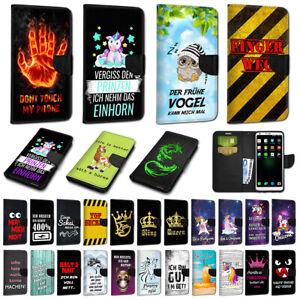 Für Apple Book Flip Wallet Case Hülle Schutz Etui Tasche Bumper Cover #NEW