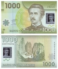 Chile 1000 Pesos 2010 P-161 Polymer Banknotes UNC