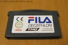 Fila DECATHLON-gioco per Nintendo Game Boy Advance-GBA GAME CARTRIDGE